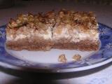 Kakaové jablkové řezy s tvarohem recept