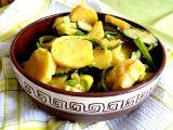 Letní bramborový salát recept