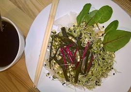 Salát z bílé ředkve s mořskými řasami recept