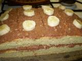 Banánové řezy s čokoládou recept