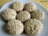 Sezamové sušenky bez lepku, mléka a vajec recept