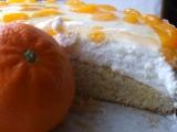 Lehký mandarinkový dort recept