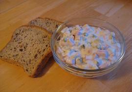 Domácí pochoutkový salát (odlehčený, bez majonézy) recept ...