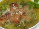 Brokolicová polévka s parmazánem recept