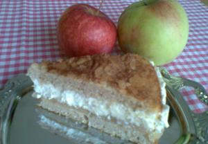 Jablečný (hruškový) hřích  dort
