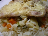 Kuřecí plátky na rýži a zelenině v římském hrnci recept  TopRecepty ...
