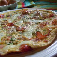 Vaječná omeleta se slaninou a rajčaty recept