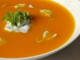 Rakouská dýňová polévka s koprem recept