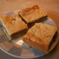 Drobenkový jablkový koláč recept