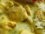 Kuřecí kari s koriandrem recept