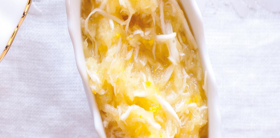 Jablečný křen s pomerančovou šťávou