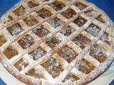 Jablkový koláč z bramborového těsta recept