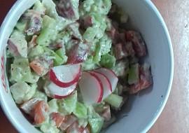 Salát s řapíkatým celerem a avokádem recept