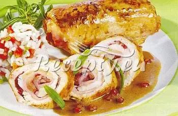Kuřecí rosol se zeleninou recept  drůbeží maso