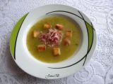 Polévka z řapíkatého celeru s hráškem recept
