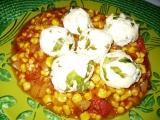 Tvarohovo-mangoldové kuličky na zelenině recept