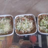 Zapečené kuřecí maso v bramborákové směsi recept
