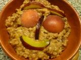 Ovesná kaše s ovocem recept