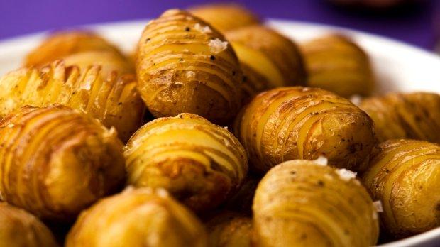 Zapečené brambory Hasselback