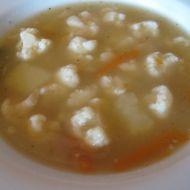 Rychlá květáková polévka 1 recept