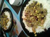 Mleté maso na kari s rýží recept