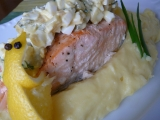 Ryba s omáčkou Gribiche recept
