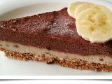Čoko-banánový dortík (raw) recept