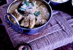 Hovězí maso rendang