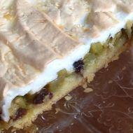 Rebarborový koláč se sněhem recept
