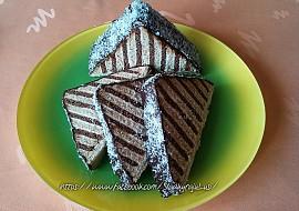 Střecha z BeBe sušenek recept