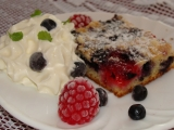 Rychlý borůvkový koláč 2 recept