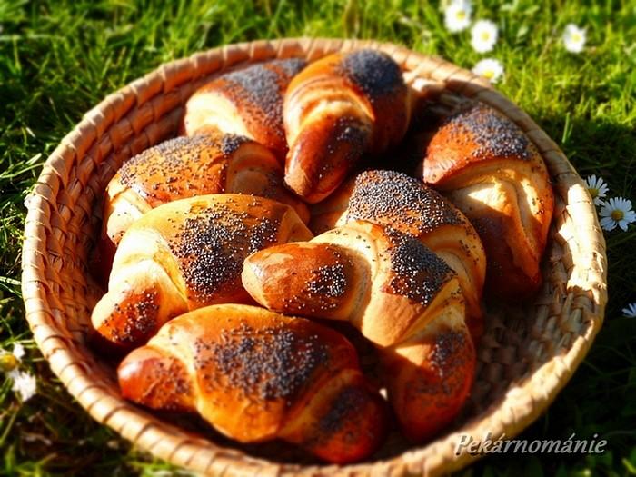 Máslové makovky recept
