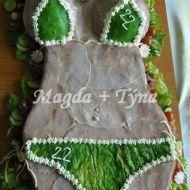 Slaný dort ženské tělo recept