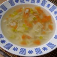 Babiččina kuřecí polévka recept