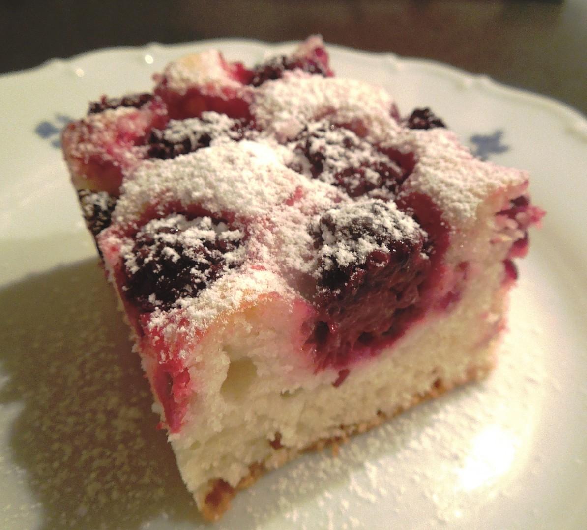 Jednoduchý ovocný koláč recept