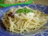 Linguini s pestem a parmezánem recept