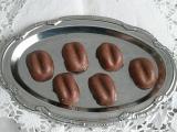 Kávová zrna s marcipánovou hmotou recept