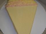Dort točená zmrzlina, vanilkovo-malinová recept