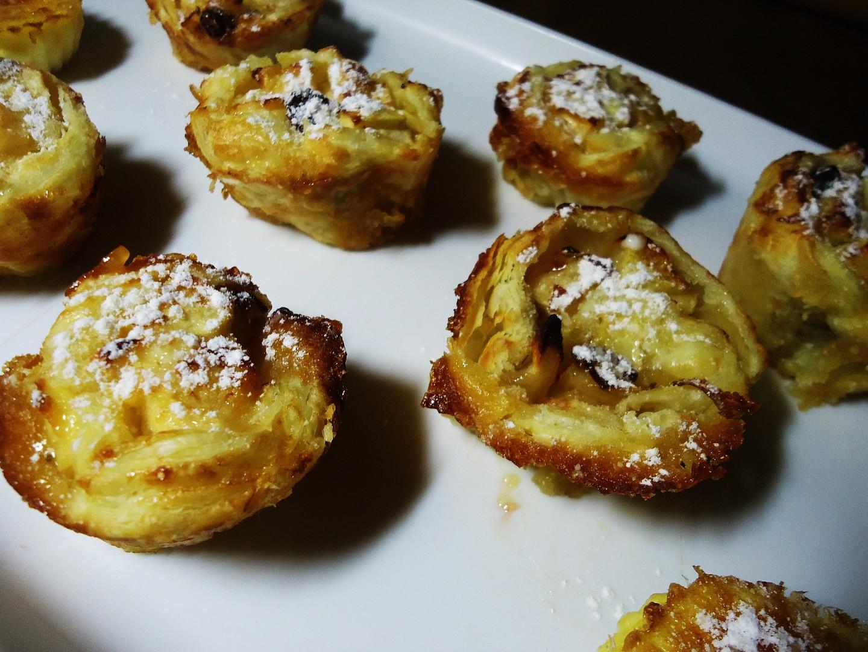 Štrúdl v muffinách recept