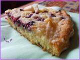 Litý koláč s ovocem a drobenkou-DIA verze recept