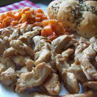 Marinované kuřecí nudličky recept