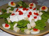 Mangoldový salát s tofu recept