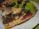 Švestkový koláč s mákem a ořechy recept