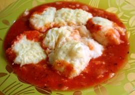 Tvarohové noky v rajčatové omáčce recept