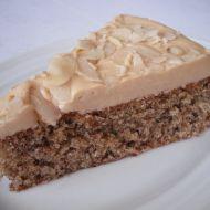 Mandlový dort bez mouky recept