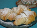 Jednoduché máslové croissanty recept