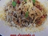 Rychlé ragú (vegetarianska verze) recept