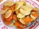 Zapečená mrkev s bramborem recept