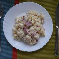 Brynzové halušky se slaninou recept