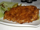 Kuřecí plátky obalované v chipsech recept